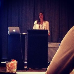 Read more about the article Onsite with Ange Renata as she delivers her amazing keynote to educate accountants. Go Ange!