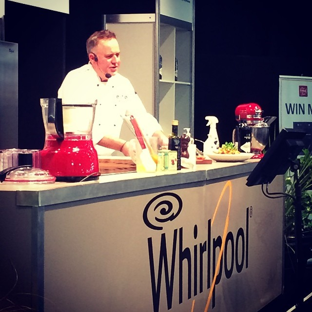 You are currently viewing Simon Gault in the Whirlpool Demonstration theatre!! Awesome!