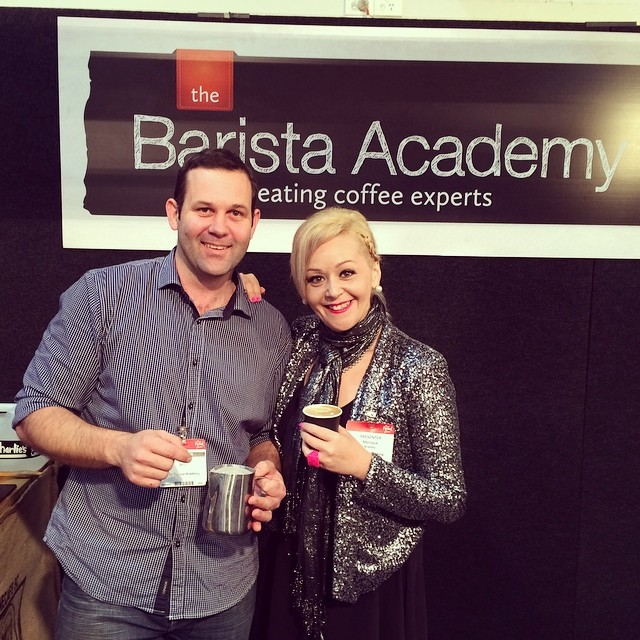 You are currently viewing Amazing morning coffee from Nic Berry at The Barista Academy stand at Auckland Food Show!!!