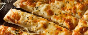 Low Carb Cheesy Breadsticks Recipe