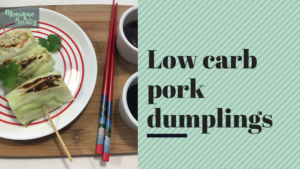 Low Carb Pork Dumplings Recipe