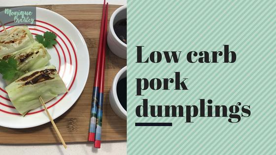 Low Carb Pork Dumplings Recipe