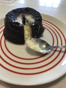 Low Carb Chocolate Lava Cake / Mini Sponge