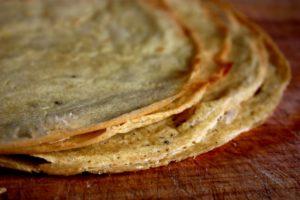 Chickpea Roti / Wraps