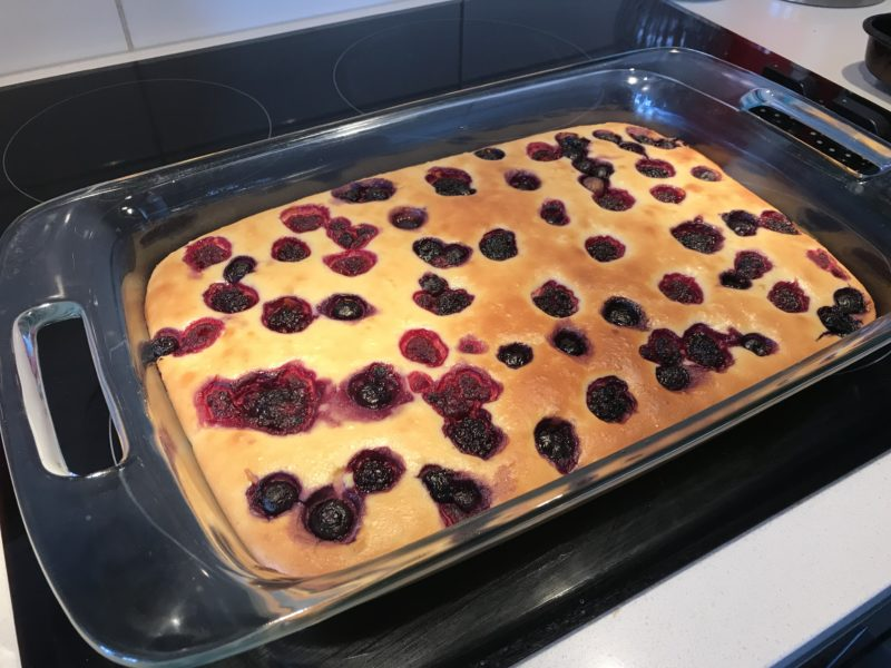 Low Carb Baked Berry Cheesecake Bars