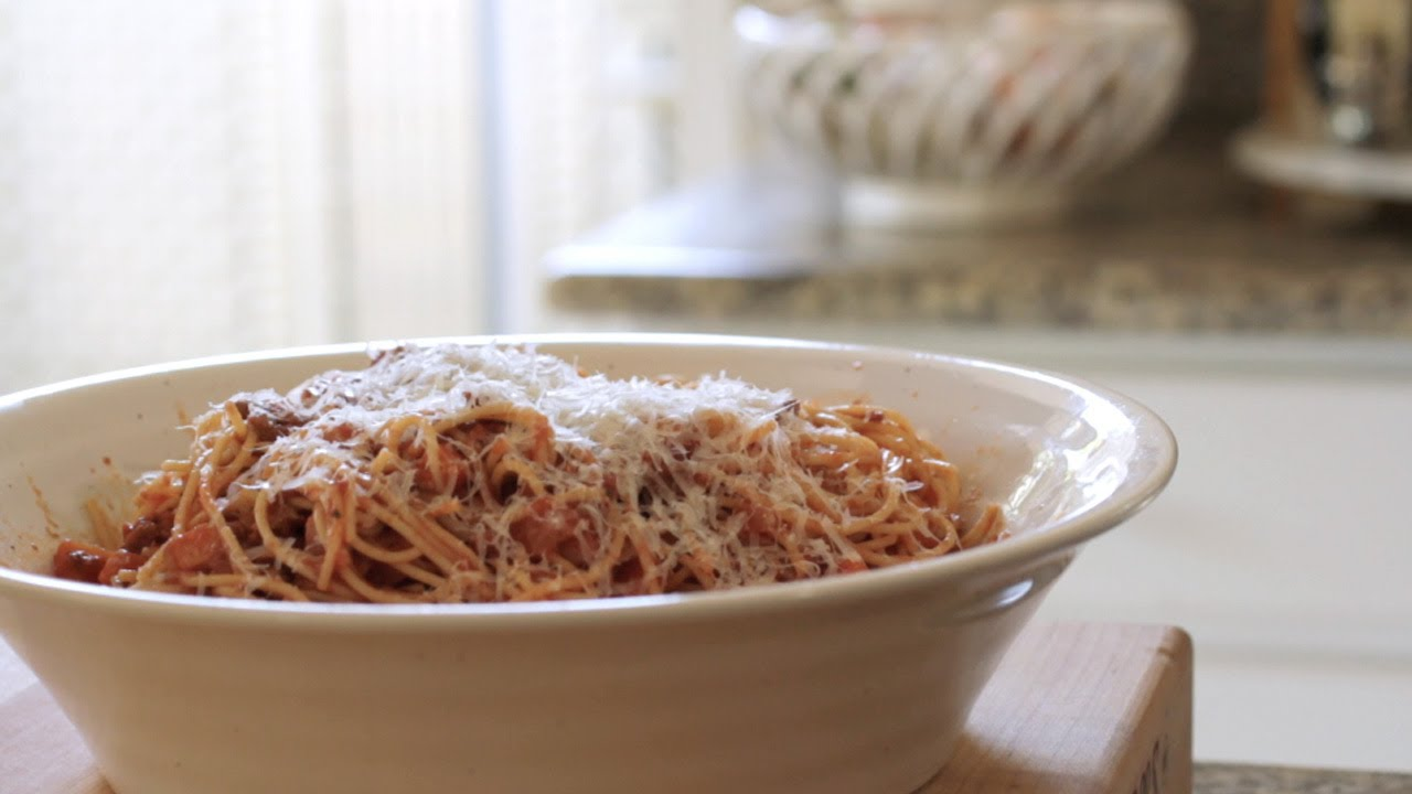 Fast And Easy Low Carb Spaghetti Bolognese