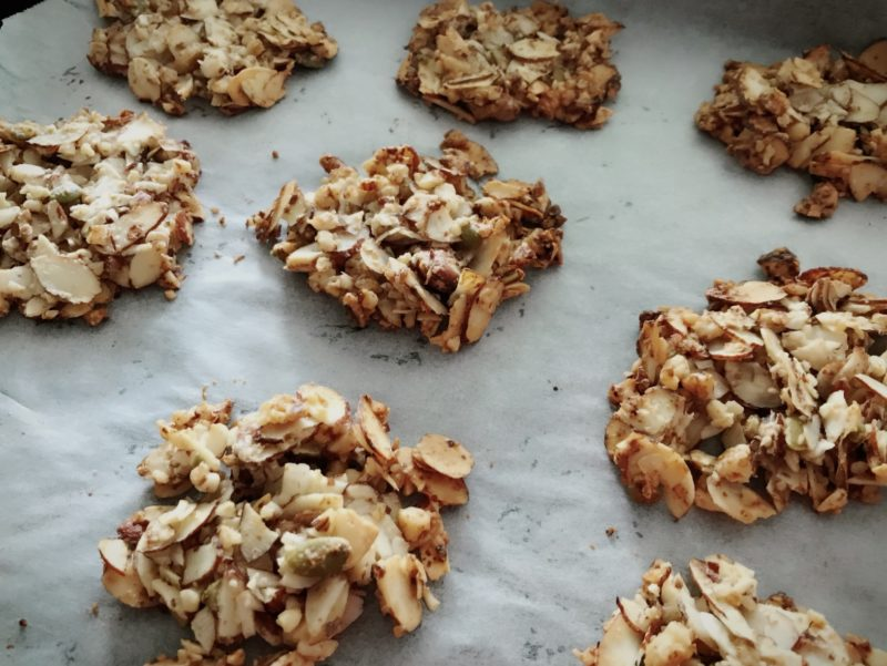 Low Carb Nut Crisp Cookies