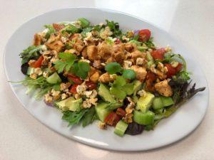 Cajun style chicken salad