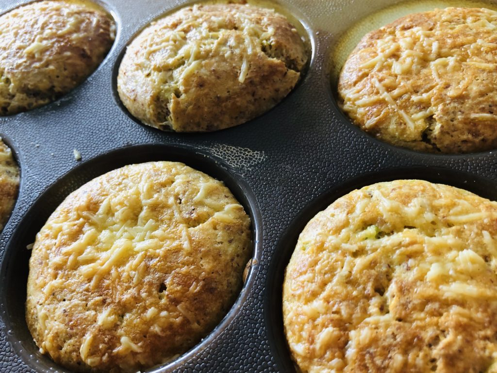 Easy Low Carb Savoury Muffins