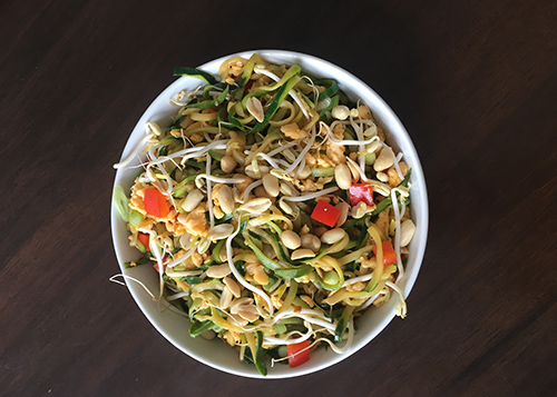 Read more about the article Zucchini Pad Thai By Claire Turnbull For Kenwood