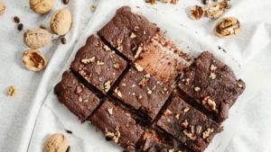 Keto Chocolate Walnut Brownie