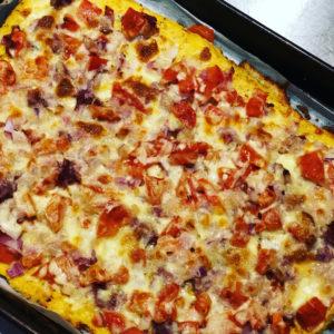 Low Carb Cauliflower Pizza Base